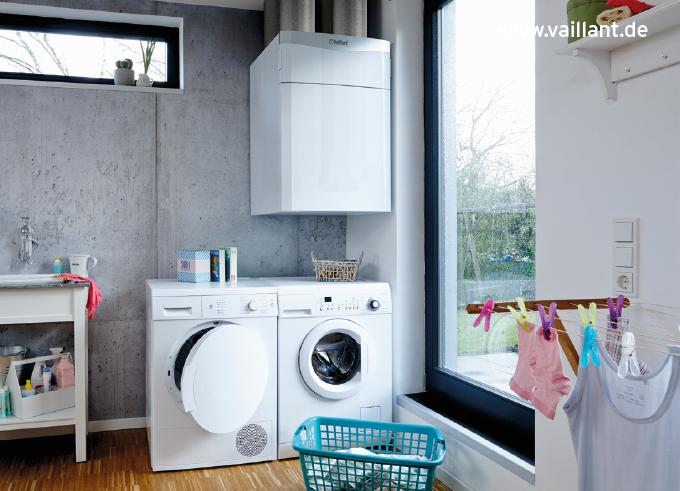 Lüfter von Vaillant in einer Waschküche